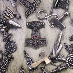 Pewter Viking Pendants and Rings