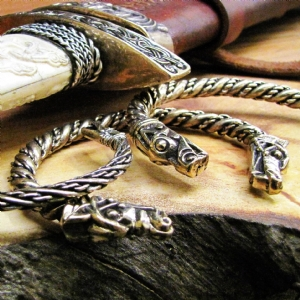 Pewter Viking Bracelets