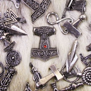 Viking Pendants & Earrings
