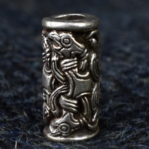 925 Sterling Silver Raven Bead