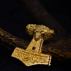Gold Plated Skane Hammer