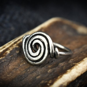 925 Sterling Silver Circle Ring