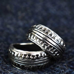 925 Sterling Silver Stamped Ring