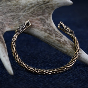 Small Dragon Bracelet : Bronze