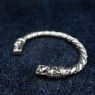 925 Sterling Silver Large Dragon Bracelet