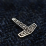 925 Sterling Silver Small Thor's Hammer