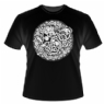 Lion and Serpent Design - Mens T-shirt