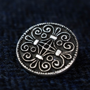 Jorvik Scroll Work Brooch