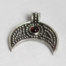 925 Sterling Silver Lunular II Red