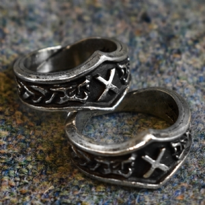 Gebo Letter G Rune Ring - Adjustable