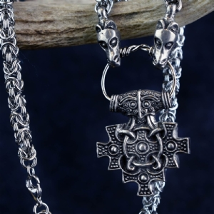 Hiddensee Pendant on Dragon Chain