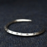 925 Sterling Silver Ring Money Bracelet TRIANGLE