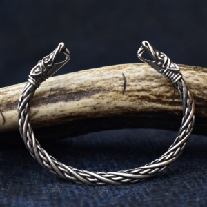 925 Sterling Silver Small Dragon Bracelet