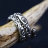 925 Sterling Silver Adjustable Ringerike Ring