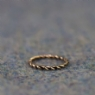 Jorvik Twist Ring 1 - Bronze