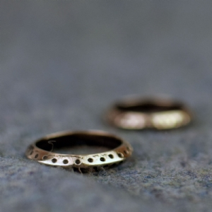 Jorvik Dot Ring - Bronze