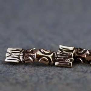 York Equal Arms Brooch- Bronze