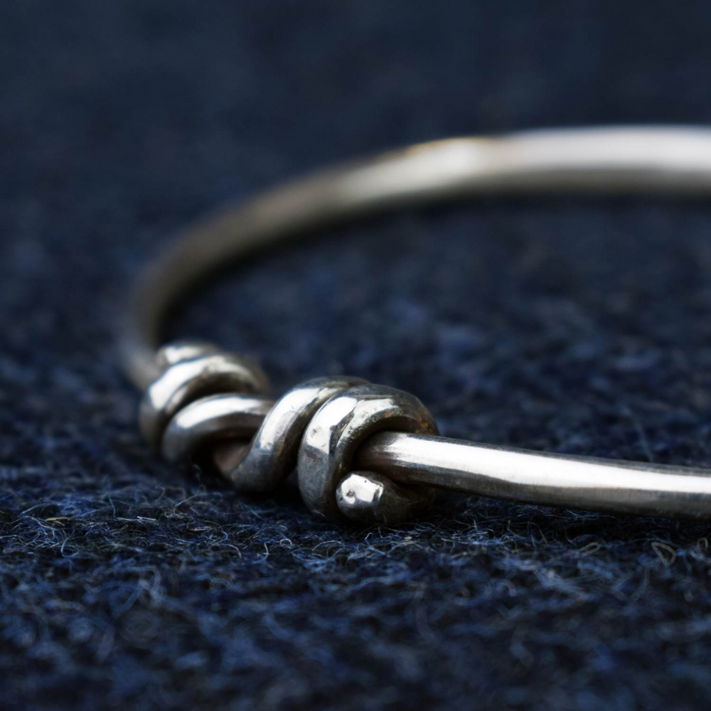 how to make a bangle sterling silver