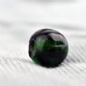 Green Melon Glass Bead