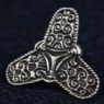 925 Sterling Viking Trefoil Brooch