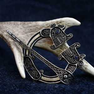 St Ninian's Hoard Pictish Penannular Blue