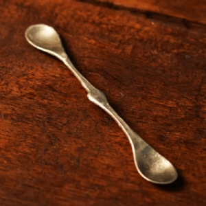 Tin Coated  Forge Spoon 1#