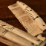 Antler Comb and Case