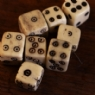 Replica Viking Age Bone Dice