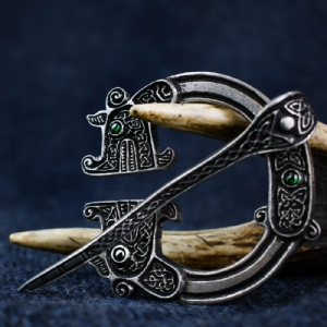 St Ninian's Hoard Pictish Penannular Green