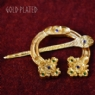 Gold Plated St Ninian's Hoard Pictish Penannular #2
